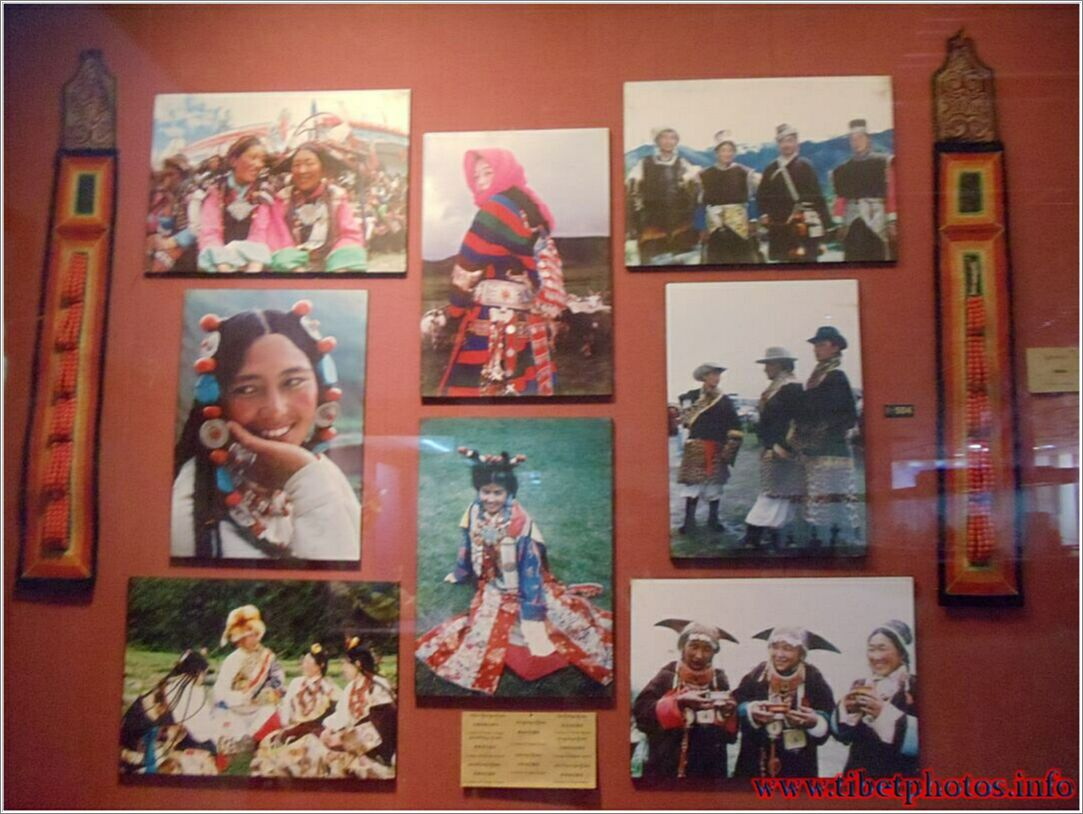 Museum ng Lhasa, kasaysayan ng Tibet.