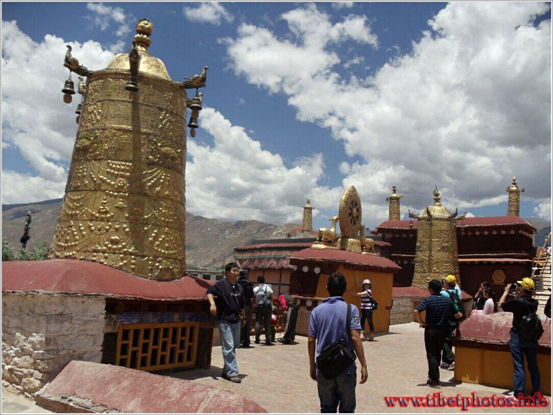 Jokhang temple in lhasa tibet