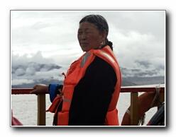 Tibet fenyw