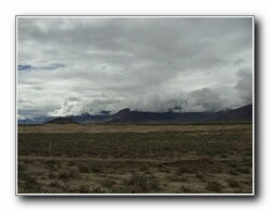 las montañas del Tíbet