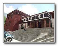 Tibetian tempull