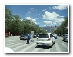 Lhasa traffic
