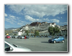 Potala Palace vista