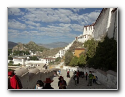 Potala Palace stairs