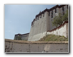 Potala Palace walls
