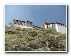castello pareti