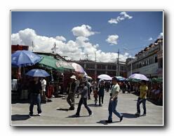 Lhasa mercat