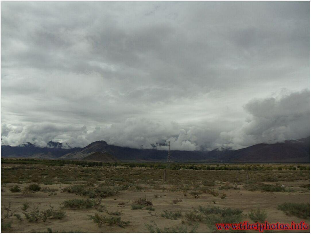 Tibet berge, die natuur en landskappe van tibet